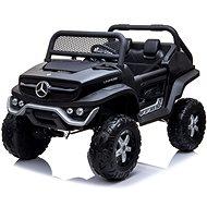 Mercedes Unimog schwarz - Elektroauto für Kinder
