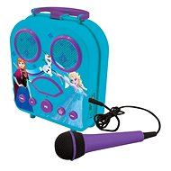 Lexibook Frozen tragbare Karaokemaschiene mit Mikrofon