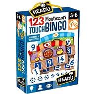 Gesellschaftsspiel Montessori - Taktiles Bingo - Společenská hra