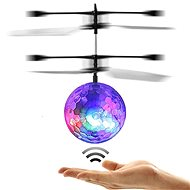 Discokugel mit LED-Beleuchtung - Hubschrauber
