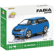 Cobi Skoda Fabia Combi Modell 2019 1:35 - Bausatz