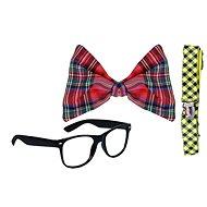 Rappa Motýlek s brýlemi a kšandy - Kostüm-Accessoires