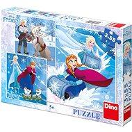 Puzzle Dino Frozen: Winterspaß - Puzzle