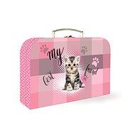 Pappkoffer für Kinder P + P Lamino Katzenbaby - Kinderkoffer