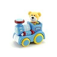 Zug mit Teddybär - Eisenbahn