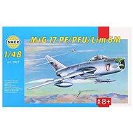 Modellflugzeug Smer 0827 – MIG 17 PF/PFU/lim 6M - Modellflugzeug