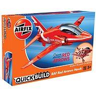 Airfix Quick Bulid J6018 letadlo – Red Arrows Hawk - Plastik-Modellbausatz