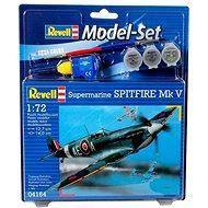 Plastikmodell Revell Modellsatz 64164 Flugzeuge - Spitfire Mk.V - Platikmodel