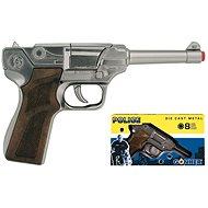 Polizeipistole Silber - Kinderpistole