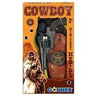 Kovbojská sada Revolver + šerifská hvězda - Kinderpistole