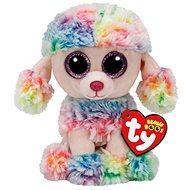 Mütze Boos Rainbow - Mehrfarbiger Pudel - Stoffspielzeug