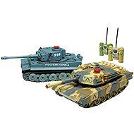 Satz von Kampfpanzern - Panzer mit Fernsteuerung