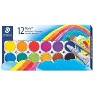 Staedtler Noris Wasserfarbmalkasten 12 Farben - Aquarell-Farben