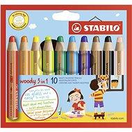 Stabilo Woody 10 Farben - Kreativset