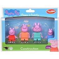 PlayBig Bloxx Piggy Peppa Familie - Figurenset
