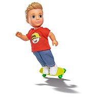 Simba Puppe Timmy mit einem Skateboard - Puppe