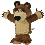 Simba Handpuppe Bär aus Mascha und der Bär 28 cm - Puppe