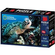 Die Schildkröte 500 Teile 3D - Puzzle