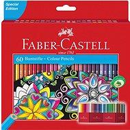 Buntstifte Faber-Castell, 60 Farben - Buntstifte