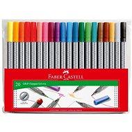 Faber-Castell  Marker Grip 0,4 mm, 20 Farben