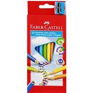 Faber-Castell Jumbo Farbstifte, 10 Farben - Bundstifte