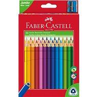 Faber-Castell Buntstifte Jumbo, 30 Farben - Bundstifte