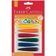 Wachsmalstifte Faber-Castell, 6 Farben - Bundstifte