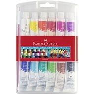 Faber-Castell Tempera Farben, 12 Farben, 12 ml - Schule Hilfe