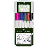 Faber-Castell Slim Whiteboard Marker, 6 Stück - Marker