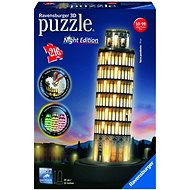 Ravensburger 3D 125159 Pisa (Nachtausgabe) - 3D Puzzle
