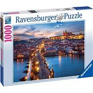 Ravensburger-19740 - Prag bei Nacht - Puzzle