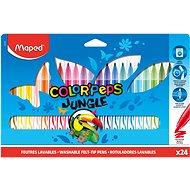 Fixy Maped ColorPeps Dschungel, 24 Farben - Bürobedarf-Set