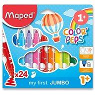 Maped Color Peps Jumbo, 24 Farben - Filzstifte
