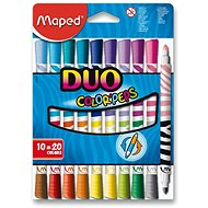 Maped Color Peps Duo, 20 Farben - Filzstifte