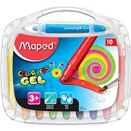 Maped Color Peps Gel, 10 Farben - Bundstifte