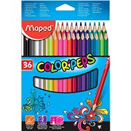 Buntstifte Maped Color Peps, 36 Farben - Bundstifte