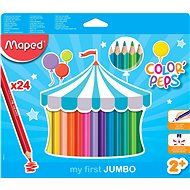 Maped Color Peps Jumbo, 24 Farben - Bundstifte