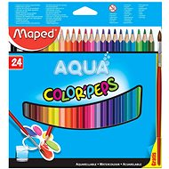 Buntstifte Maped Color Peps Aqua, 24 Farben - Bundstifte