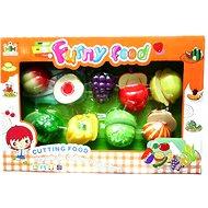 Klettverschluss-Set aus Obst und Gemüse - Topfset
