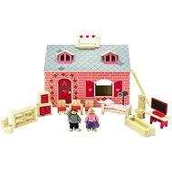Domeček pro panenky 19 součástí - Kinderspielhaus