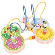 Bigjigs motorisches Labyrinth Wiese - Didaktisches Spielzeug