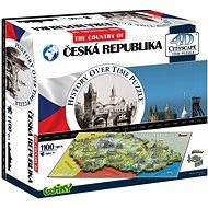 4D Puzzle Tschechische Republik - Puzzle