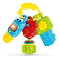 Clementoni Rassel mit Schlüsseln und Electronic-Sound - Spielzeug für die Kleinsten
