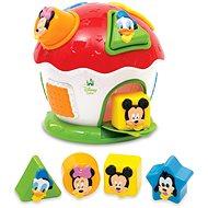 Clementoni Mickey Häuschen Steckspielzeug - Spielzeug für die Kleinsten