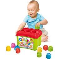 Clementoni Clemmy Baby 18 Würfel Wurfeimer - Spielzeug für die Kleinsten