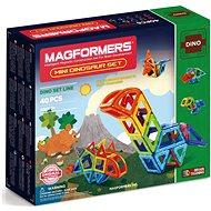 Magformers Mini Dinosaur Set - Magnetischer Baukasten