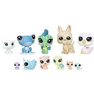 Littlest Pet Shop Großes Paket 11 Stück von Tieren - Reisende - Spielset