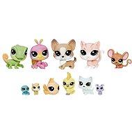 Littlest Pet Shop Große Packung 11 Stück von Tieren - Haustiere - Spielset