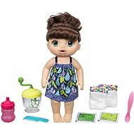 Baby Alive Dunkelhaarige Puppe mit Mixer - Puppe