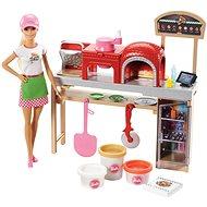 Barbie Spielset Kochen und Pizza Backen - Puppe